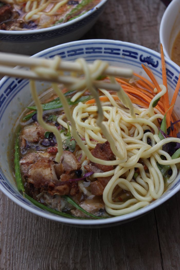 Ramen Tonkotsu Soup | Herzhafte Ramen Variante