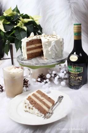 Kerrygold Irish Cream Liqueur Torte – Weihnachtliches Rezept