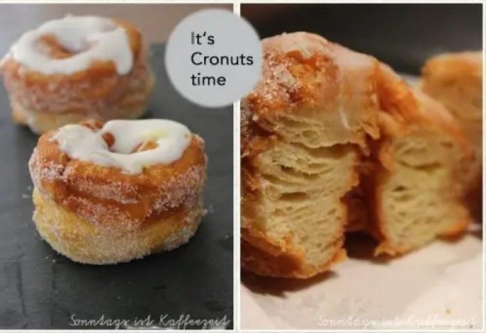 Die Cronuts haben Einzug in meiner Küche