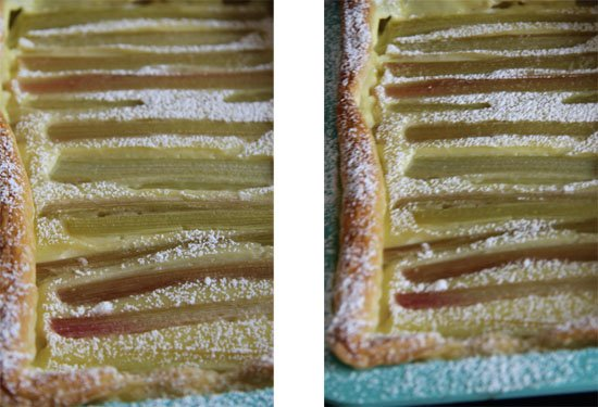 Rhabarber-Vanille-Tarte schnell und einfach gemacht