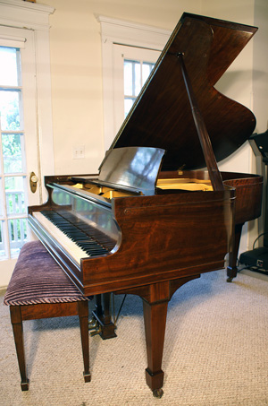 Sohmer Grand Piano Walnut