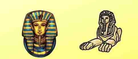 Sphinx হলো মানুষের মাথা ও পশুর শরীরের আদলে তৈরি ফ্যারাও খাফরের মমির রক্ষক। 3 1
