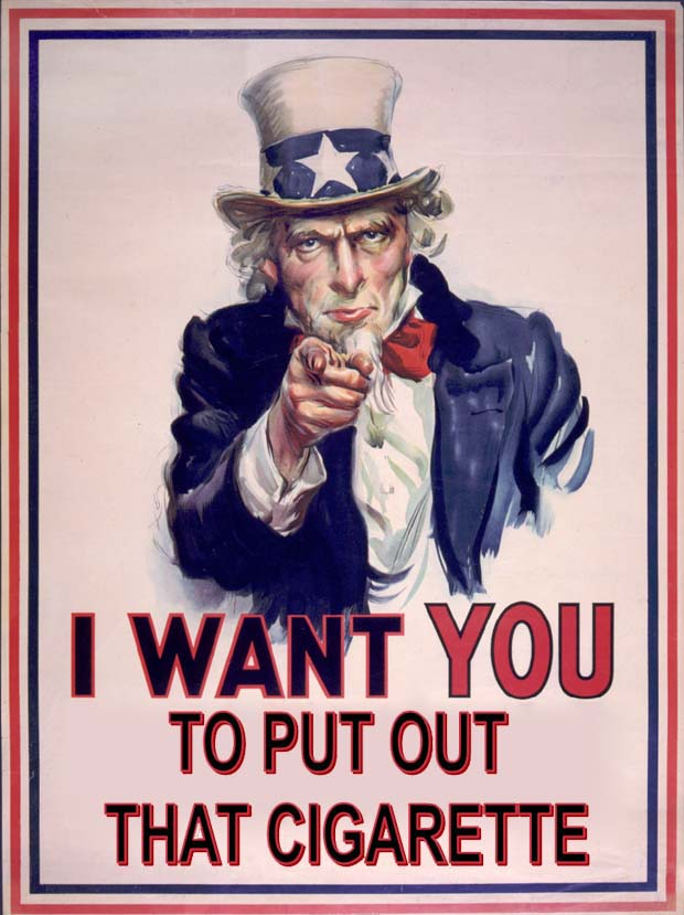 Uncle Sam says No
