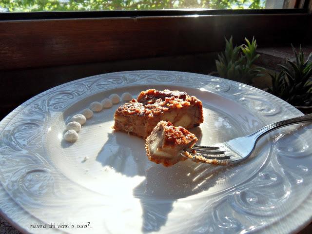 Una torta di pane e per di più senza zucchero
