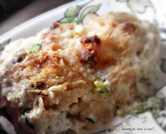 sformato di broccoli e carote