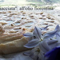 """La """"stiacciata"""" all'olio, tradotta dal fiorentino: la schiacciata all'olio a lievitazione naturale"""