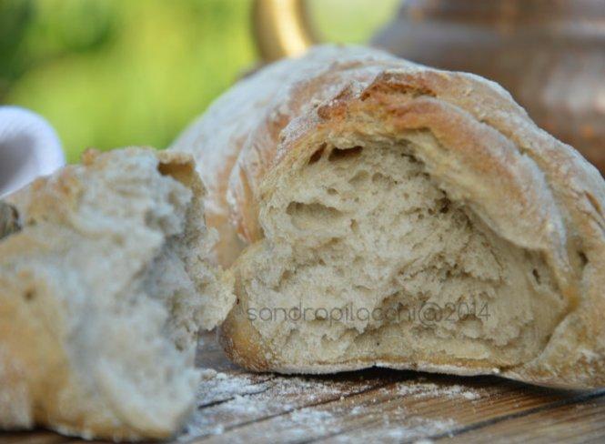 treccia di pane arso