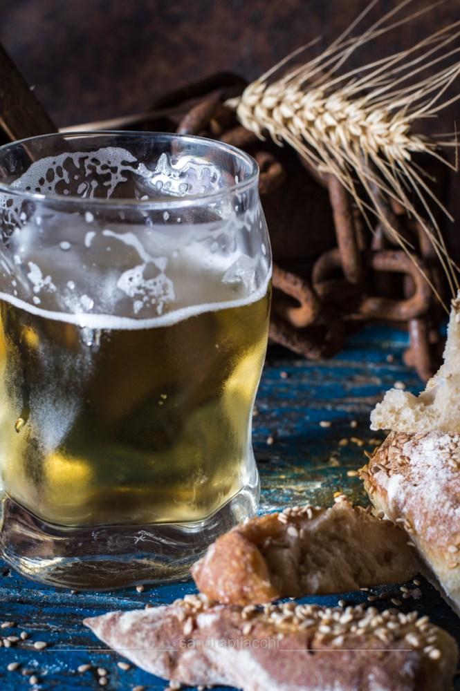 Pane alla birra e semi di sesamo