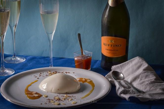 Biancomangiare con riduzione al Vin Santo Serelle Ruffino