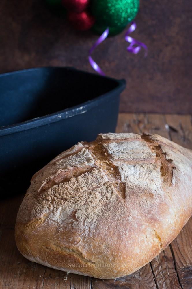 Pane bianco in ghisa