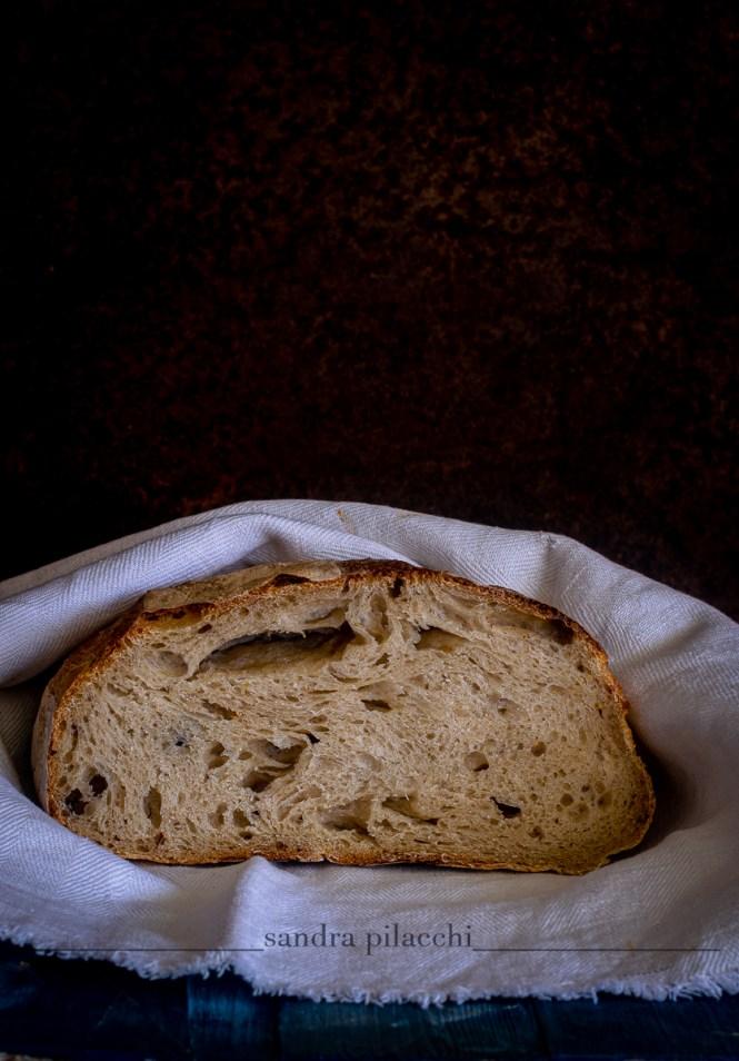 Pane farina tipo 1, senza impasto e lievitazione a bassa temperatura - con video