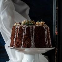 Chiffon cake con farina di castagne e olio extravergine di oliva IGP Toscano