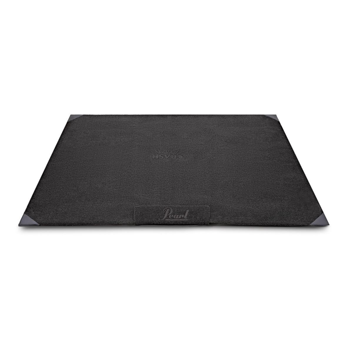 pearl pph kcp5 tapis pour batterie noir avec logo pearl