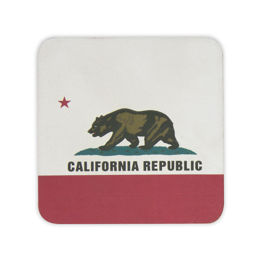 California-Leather-Coaster
