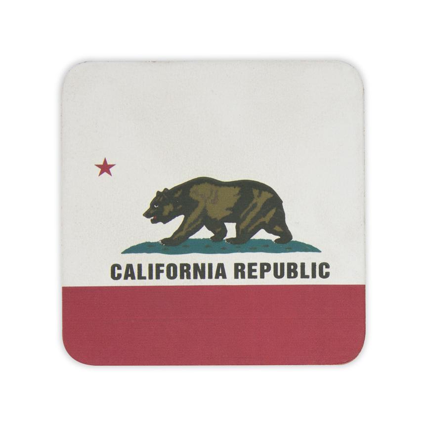 California-Leather-Coaster