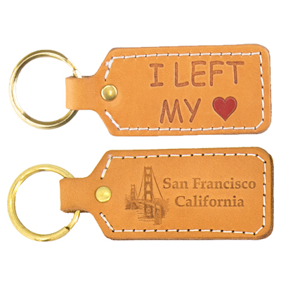 SanFrancisco-Leather-KeyChain