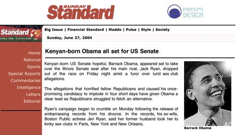 kenyan born obama article