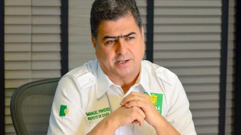 Emanuel Pinheiro volta a cogitar 'lockdown' em Cuiabá de houver descontrole  da Covid-19 – Só Notícias