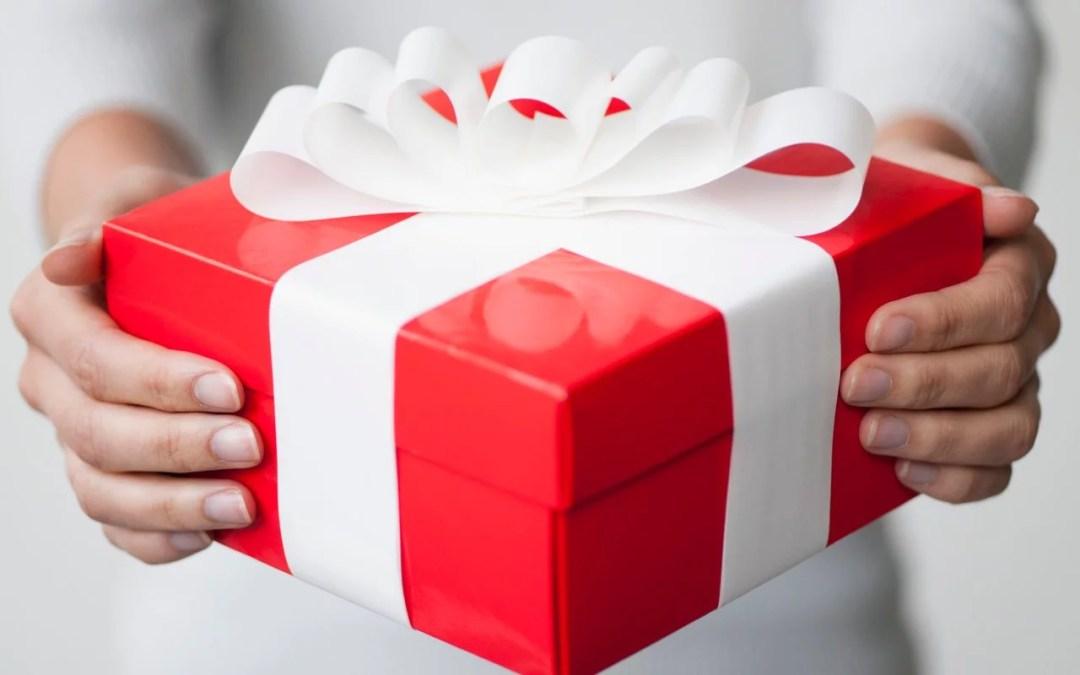 ¿Estás listo para recibir el regalo?