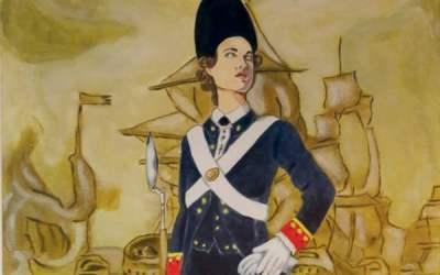 Ana María de Soto, la primera infante de marina