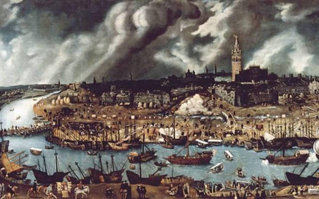 La Peste Negra: Cuando Sevilla se encomendó al Cristo de San Agustín