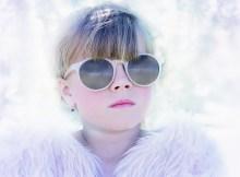 blonde girl with nice eyeglasses