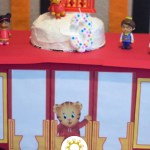 Daniel Tiger's Trolley Cake Stand (with title overlay)