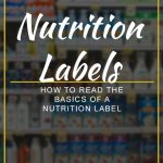 How to Read the Basics of a Nutrition Label