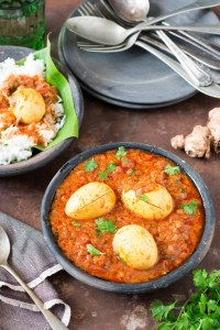 South Indian Spicy Egg Curry