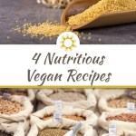 4 Nutritious Vegan Recipes for the Busy Ones