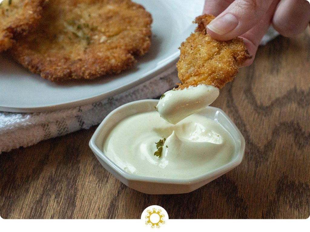 Fish Cakes with Dipping Sauce