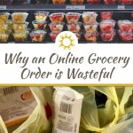 An online grocery order, while convenient, creates large amounts of waste that could easily be avoided by foregoing the services and shopping for yourself. #nowastekitchen