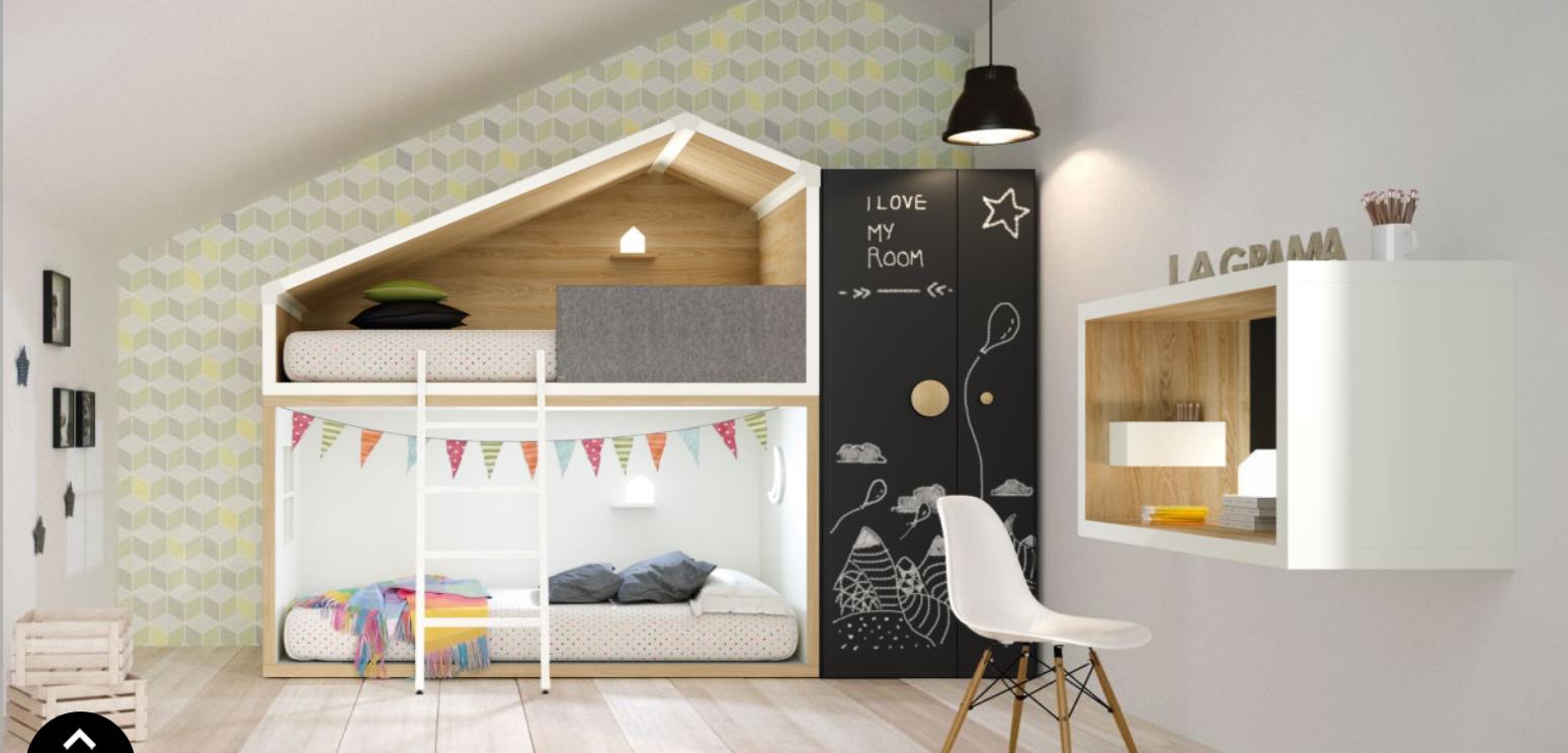 un lit enfant original