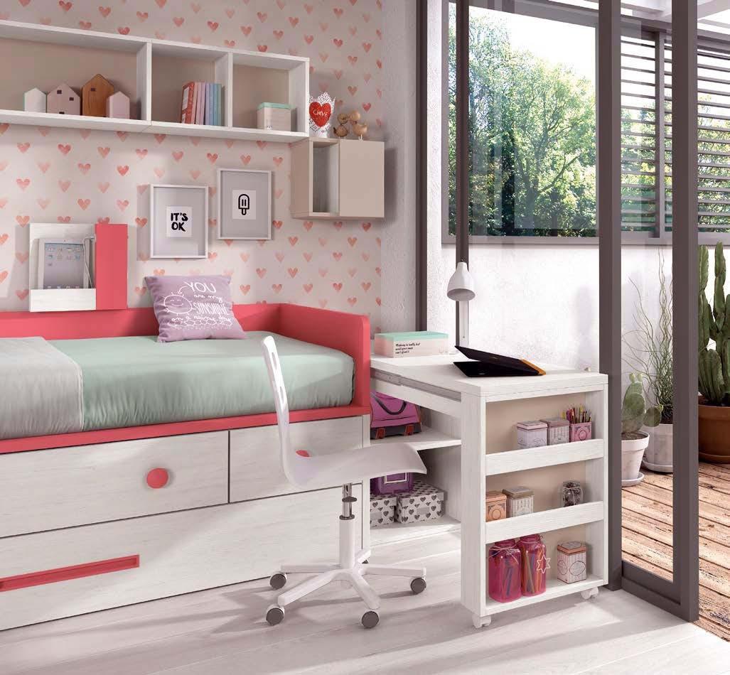 lit 1 personne design avec rangements
