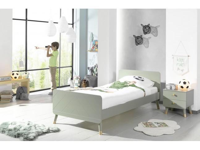 lit pour enfant lilly olive 90x200 cm sonuit