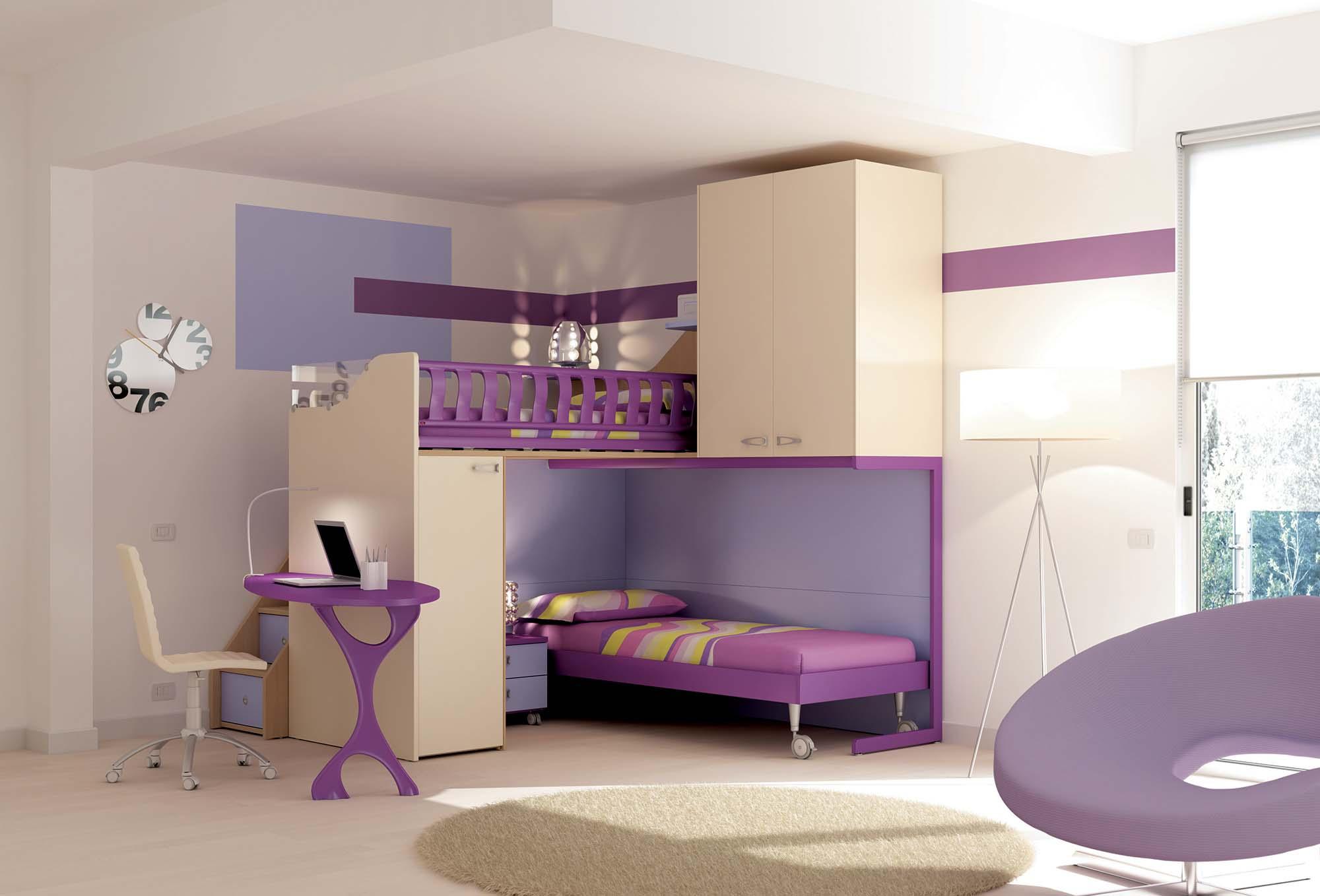Chambre Enfant Colore Compact Amp Pratique MORETTI