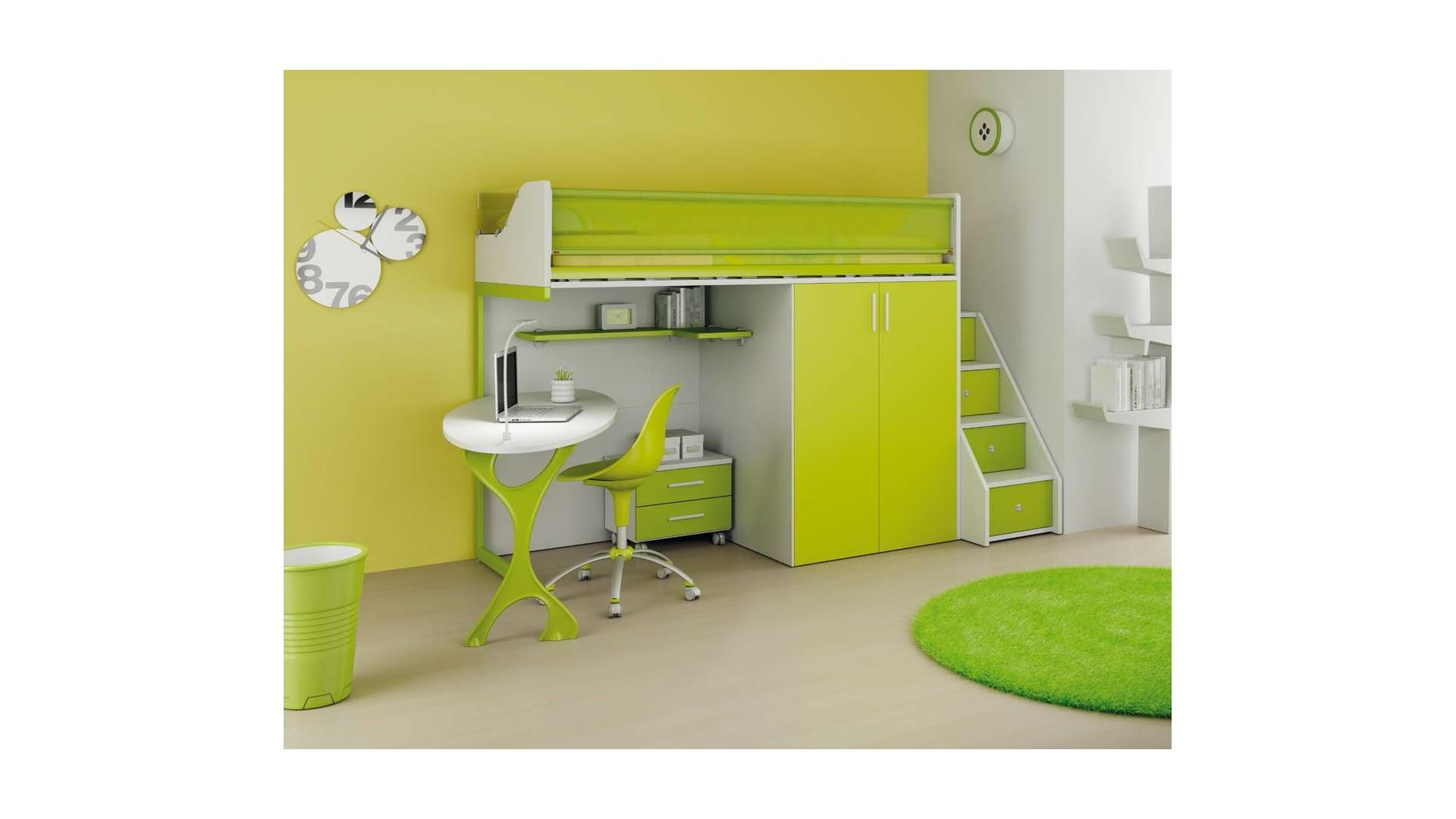 chambre enfant personnalisable lh33 lit mezzanine moretti compact