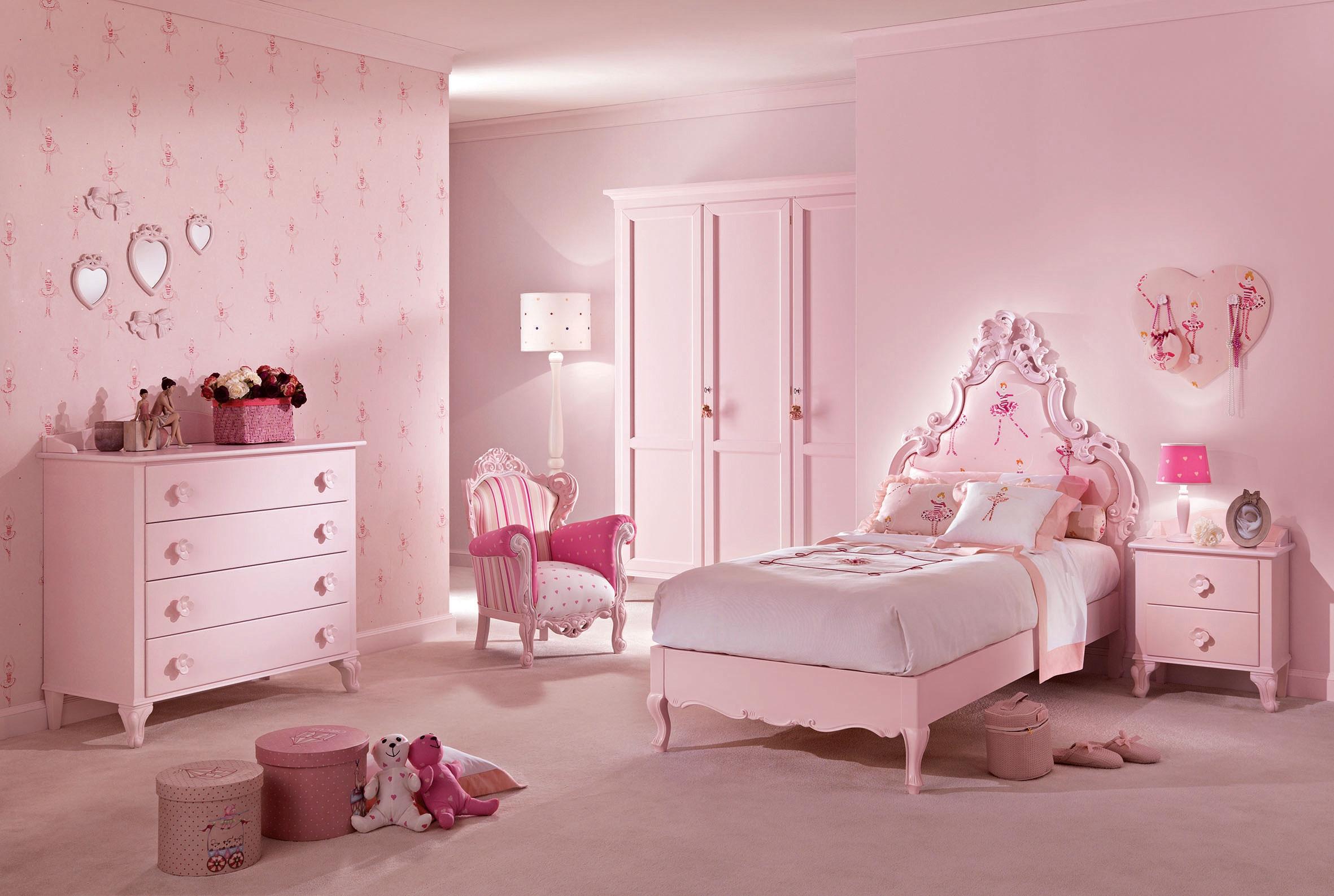 lit princesse modele cecile rose pastel