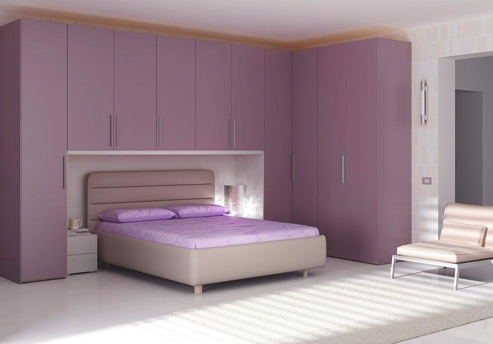 Chambre Adulte Complte Avec Pont Design MORETTI COMPACT