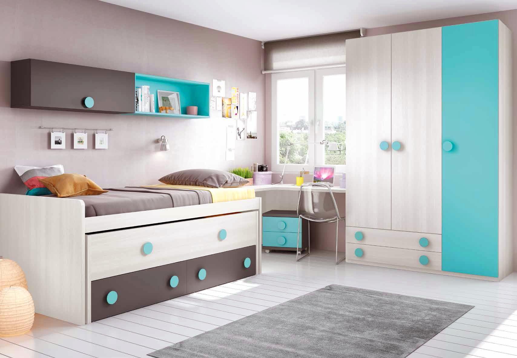 Chambre Moderne Ado Complete Design Et Colore GLICERIO