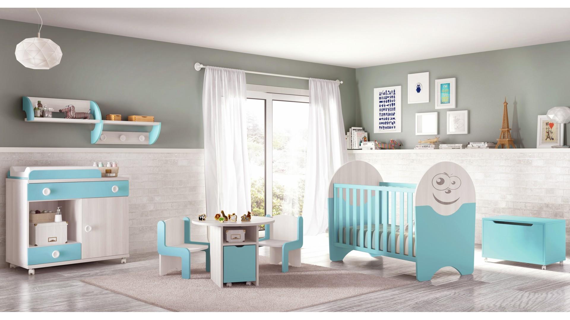 Chambre De Bb Complete Small Fun Et Colore GLICERIO
