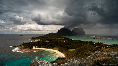 Sony - α CLOCK: world time, captured by α Lord Howe Island ...