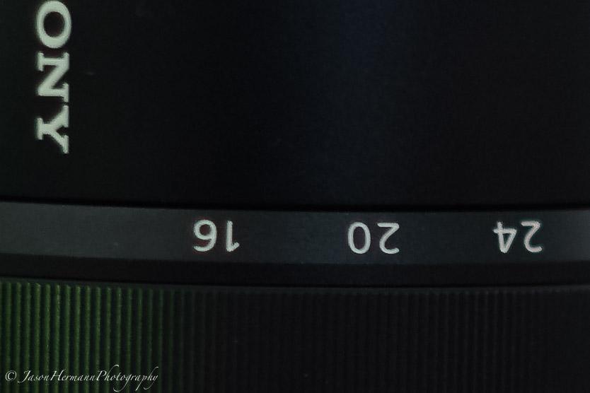 100% Crop - Sony a7II - Steadyshot Test - MC 50mm f/1.4 @ 1/6 second