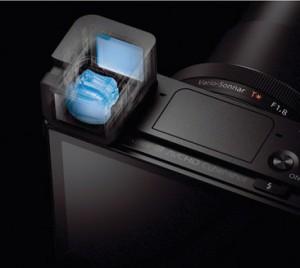 1440k-Dot OLED Tru-Finder Pop-Up EVF