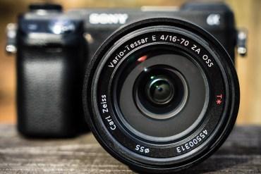 16-70mm f/4 OSS ZA Lens