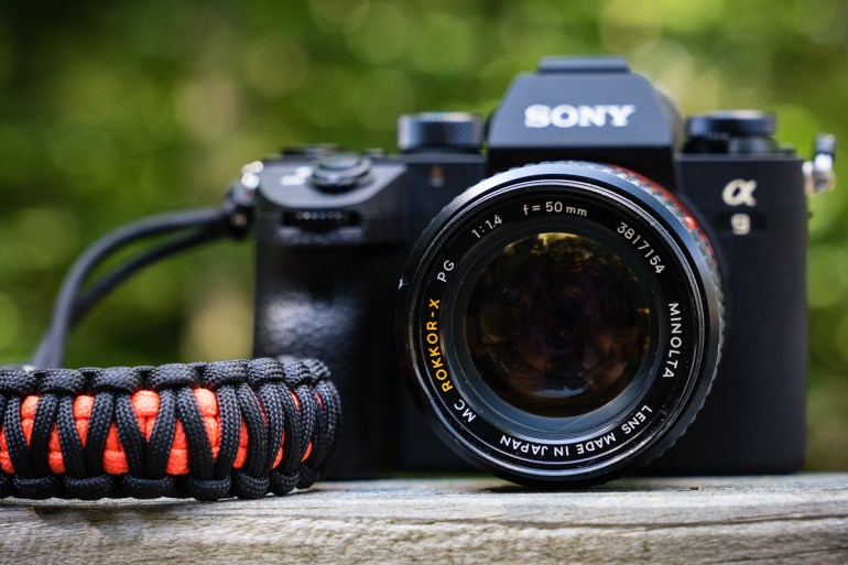 Sony A9 with Minolta 50mm f/1.4 Rokkor-X Lens