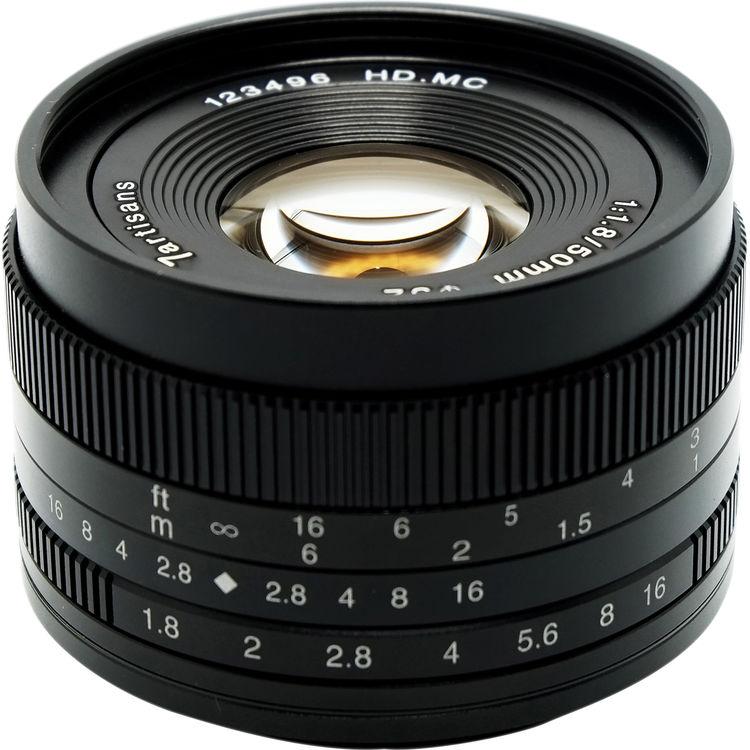 7artisans Photoelectric 50mm f/1.8 Lens