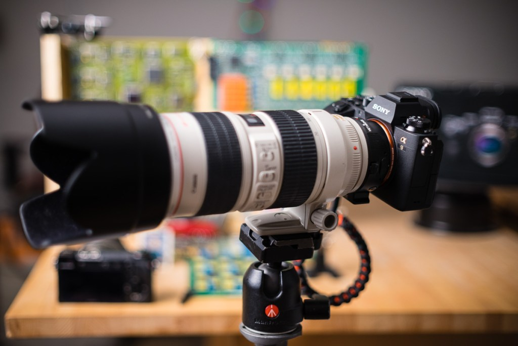 Sony A9 w/ Metabones and Canon EF 70-200mm f/2.8 L IS Lens