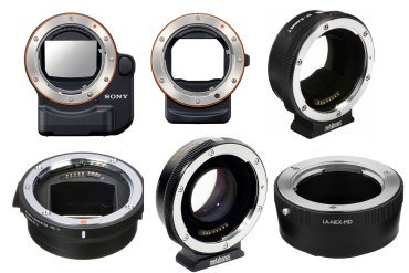 Sony E-Mount Lens Adapter Guide