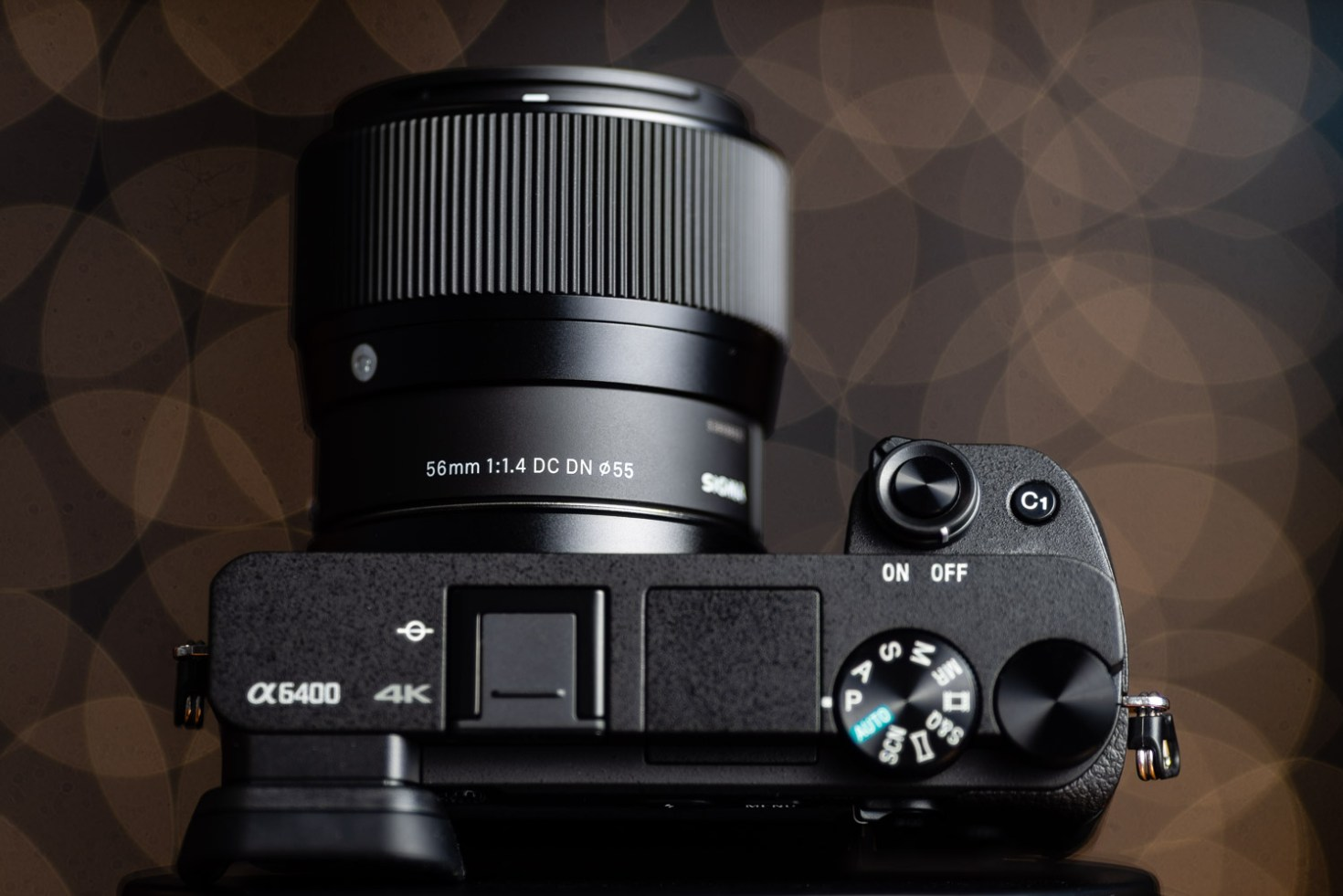 Sigma 56mm f/1.4 DC DN Lens on the Sony A6400